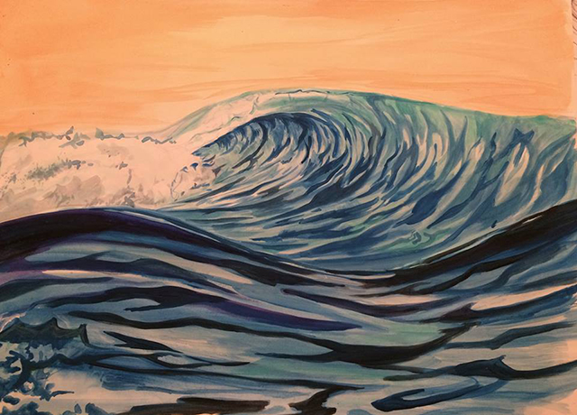 Wave Storm by Alison Lee